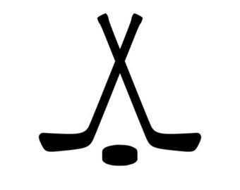 Crossed Hockey Sticks u0026amp; Hockey .
