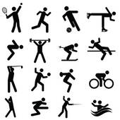 Crossfit athletics graphics u0026middot; Sports and athletics icons