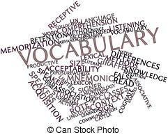 Crossword Clip Artby Suljo1/202; Vocabul-Crossword Clip Artby Suljo1/202; Vocabulary - Abstract word cloud for Vocabulary with related.-7