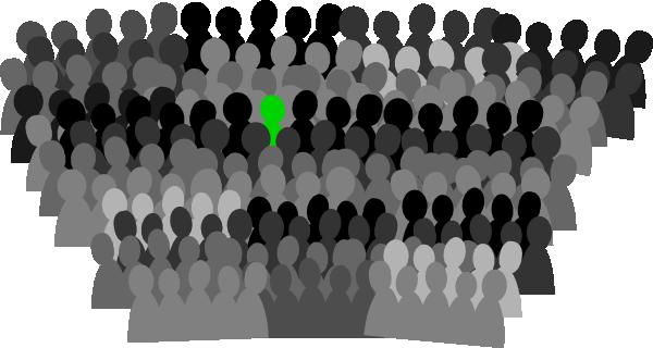 Crowd Clip Art At Clker Com Vector Clip Art Online Royalty Free
