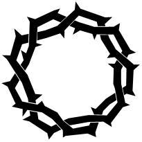 Crown of Thorns - Christart.-Crown of Thorns - Christart.-3