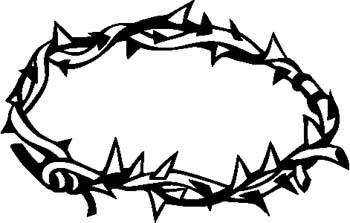 Crown Of Thorns Clipart .-Crown Of Thorns Clipart .-1