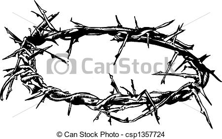 ... Crown Of Thorns Vector Illustration -... Crown Of Thorns Vector Illustration - Crown Of Thorns-11