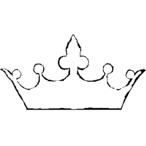crown outline - Polyvore . - Crown Outline Clip Art