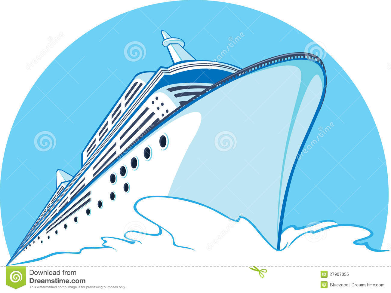 Cruise Ship Clip Art. Cruise Ship Royalty Free Stock .