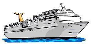 Cruise Ship Clip Art. Resolution 300x148 .
