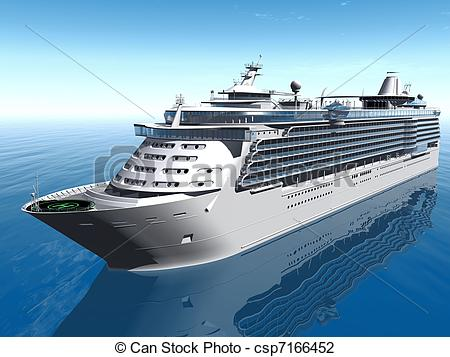 Cruise Ship Clip Artby ...-Cruise ship Clip Artby ...-8
