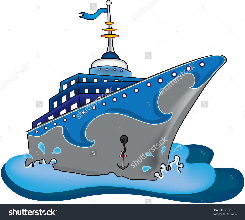 Cruise Ship Clipart