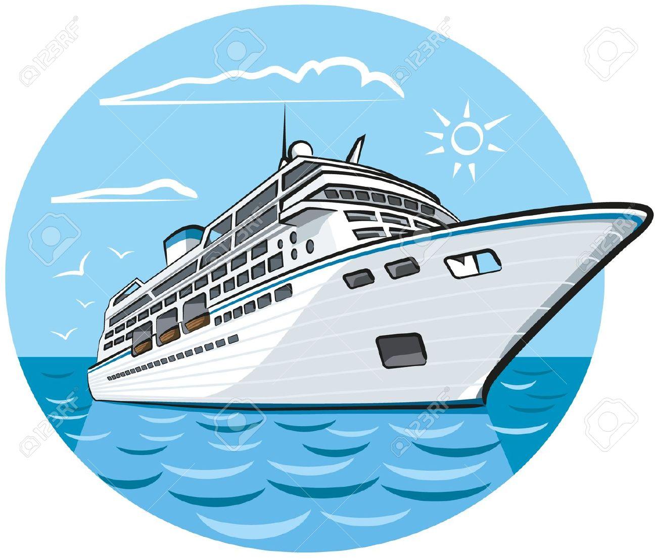 cruise ship: luxury cruise .