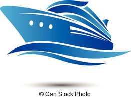 ... Cruise Ship with ocean liner vector.illustration