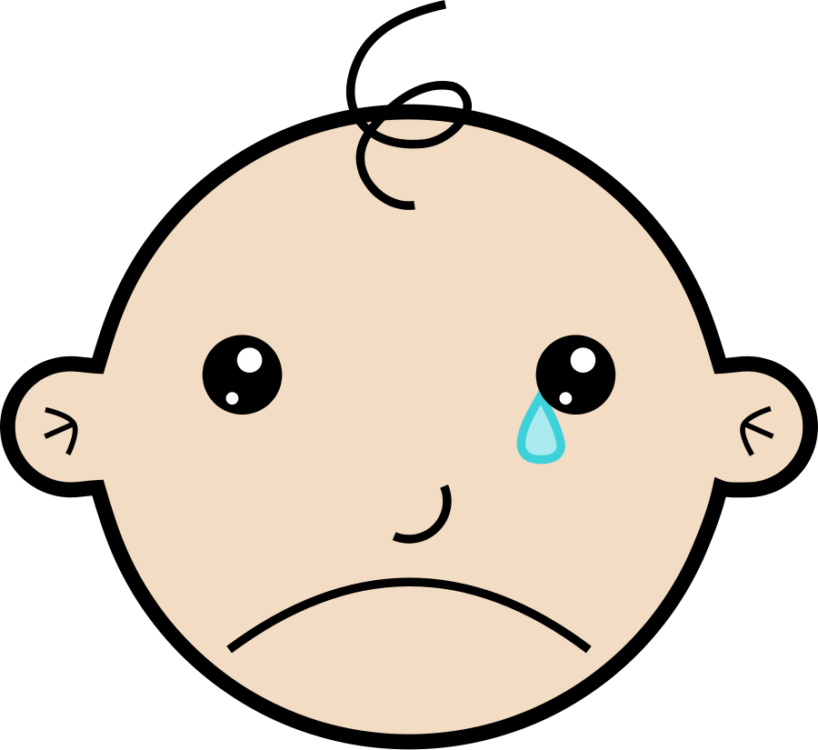 Crying Clipart-crying clipart-6