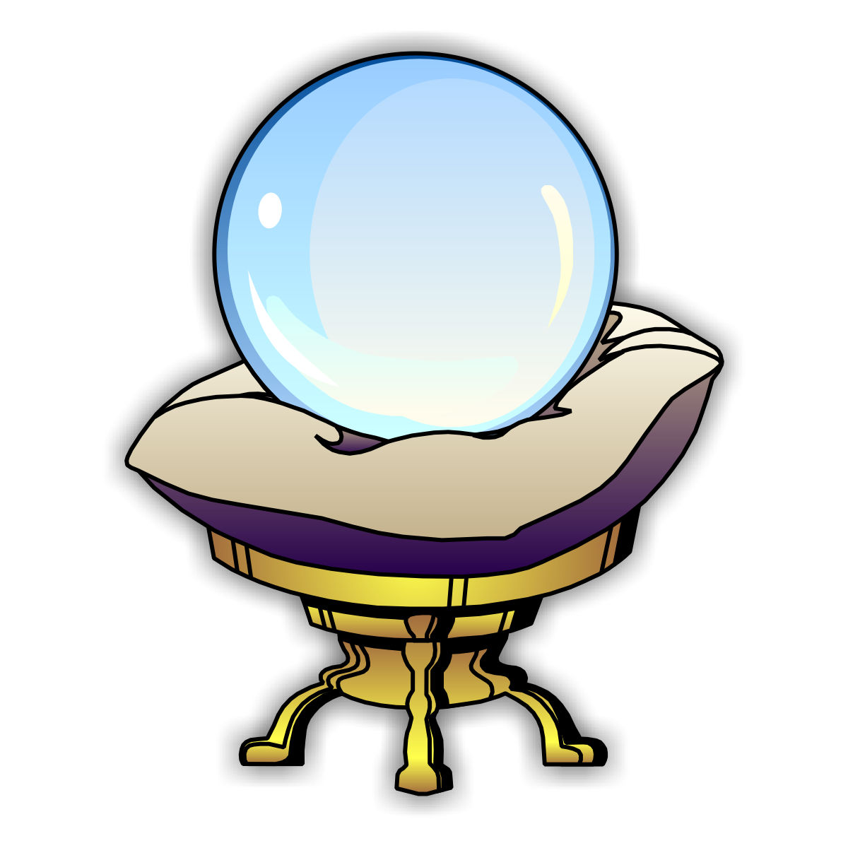 Crystal Ball Colouring Pages-Crystal Ball Colouring Pages-0