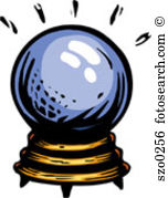 crystal ball - Crystal Ball Clip Art