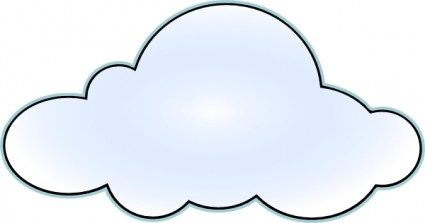 Csc Net Wan Cloud clip art Vector clip art - Free vector for free