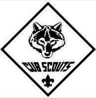 Cub Scout Logo - Black And White Colorin-Cub Scout logo - black and white coloring sheet. Add boys creativity to Blue u0026amp;-10