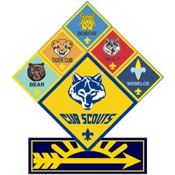 Cub Scout Logo. Pack 19 Bayonne New Jers-Cub Scout Logo. Pack 19 Bayonne New Jersey .-14