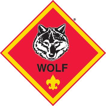 Cub Scout Logo. Wolf (Diamond) .-Cub Scout Logo. Wolf (Diamond) .-15