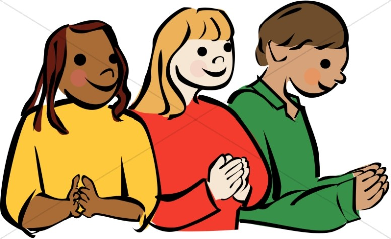 Culturally Diverse Children Praying-Culturally Diverse Children Praying-8