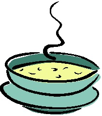 Cup of soup clipart kid