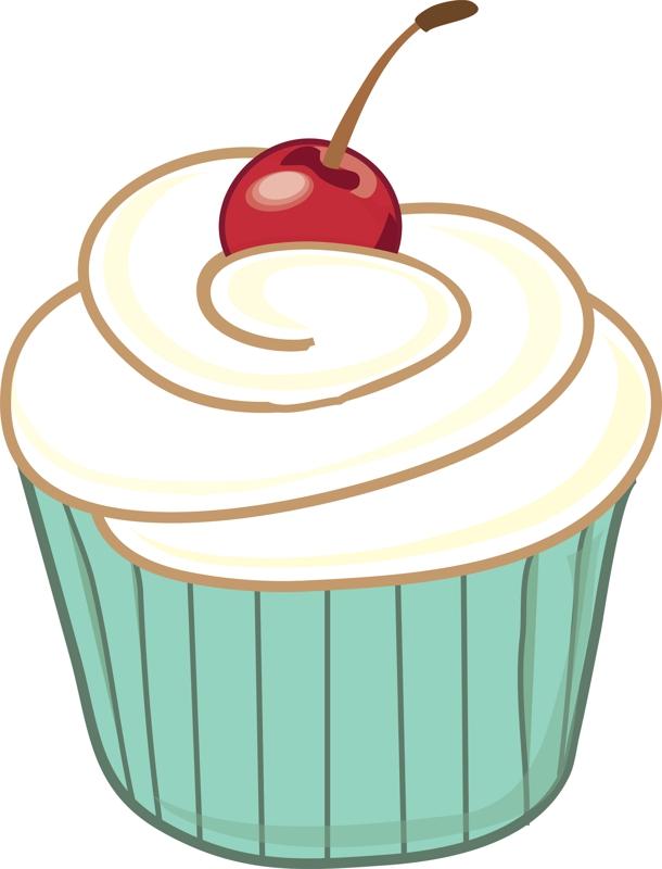cupcake clipart-cupcake clipart-2
