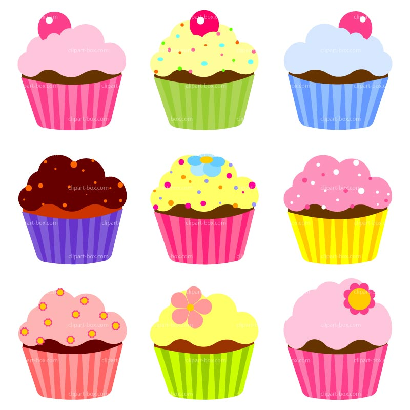 32 free cupcake clipart clipartlook