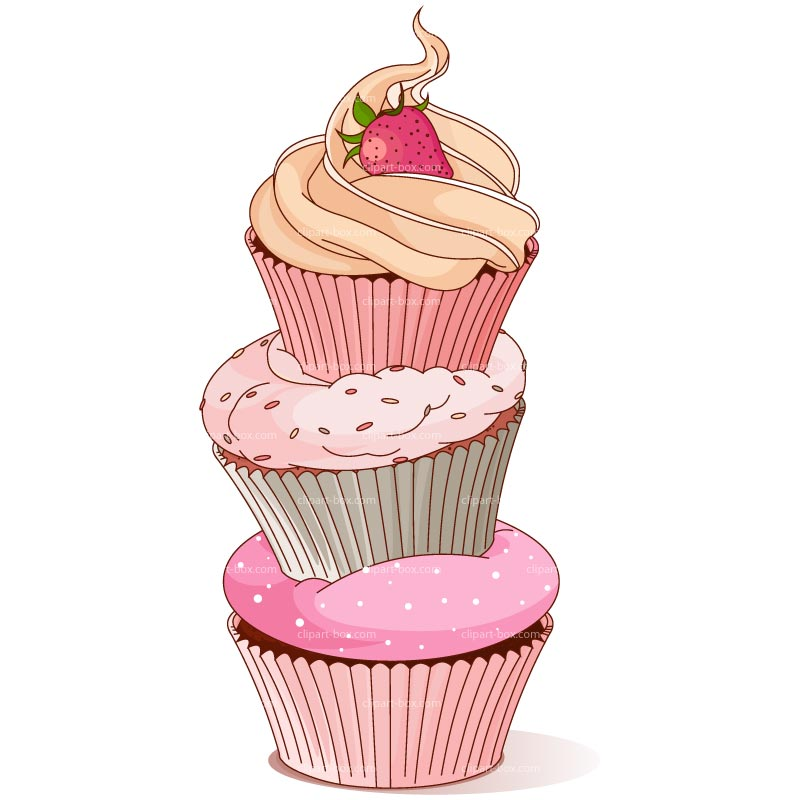 Cupcake Clip Art Free. 1000  images about cupcakes on .