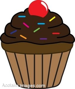 Cupcake Clip Art to Download .