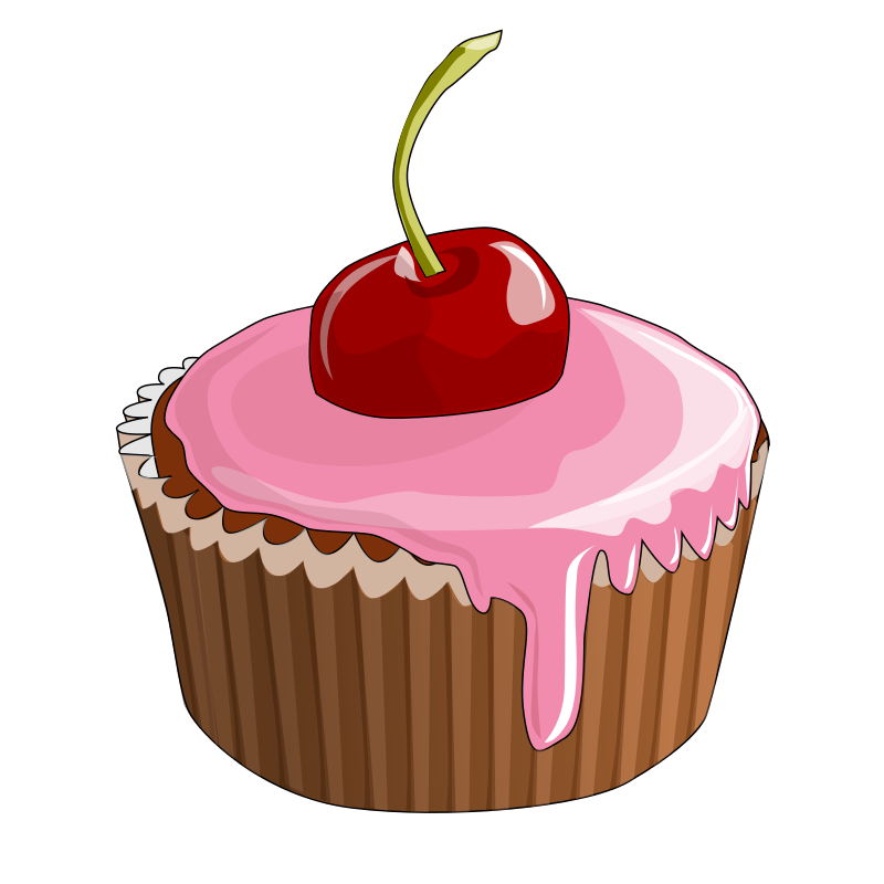 Cupcake Clipart 04 - Dessert Clip Art