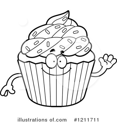 Cupcake Clipart Black And White Look At Clip Art Images