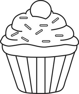 cupcake clipart-cupcake clipart-0