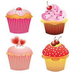 Cupcake clipart on clip art cupcake and happy