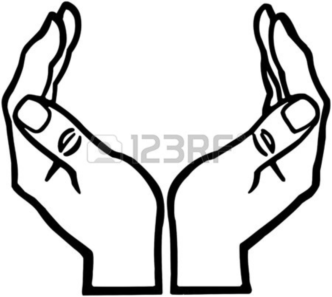 Cupped Hands Clip Art-Cupped Hands Clip Art-5