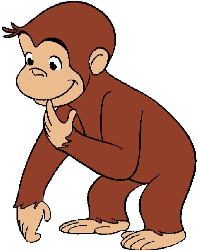 Curious George Cartoon Image