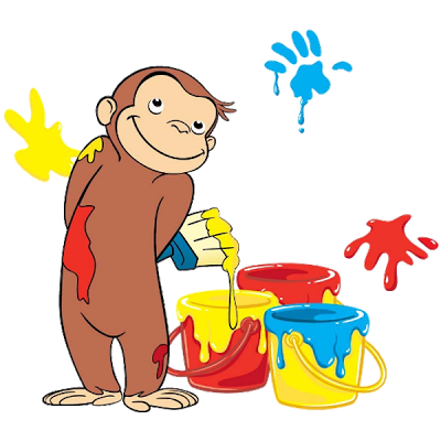 Curious George Cartoon Monkey - Curious George Clip Art