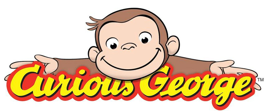 Curious George With Balloons Clipart Curious George