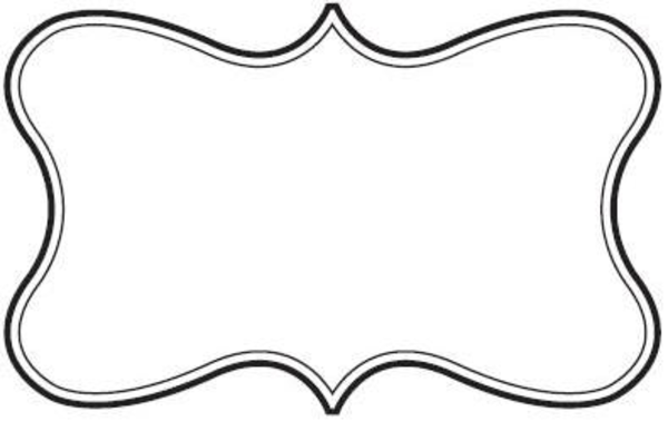 Curly Top Border Clipart .