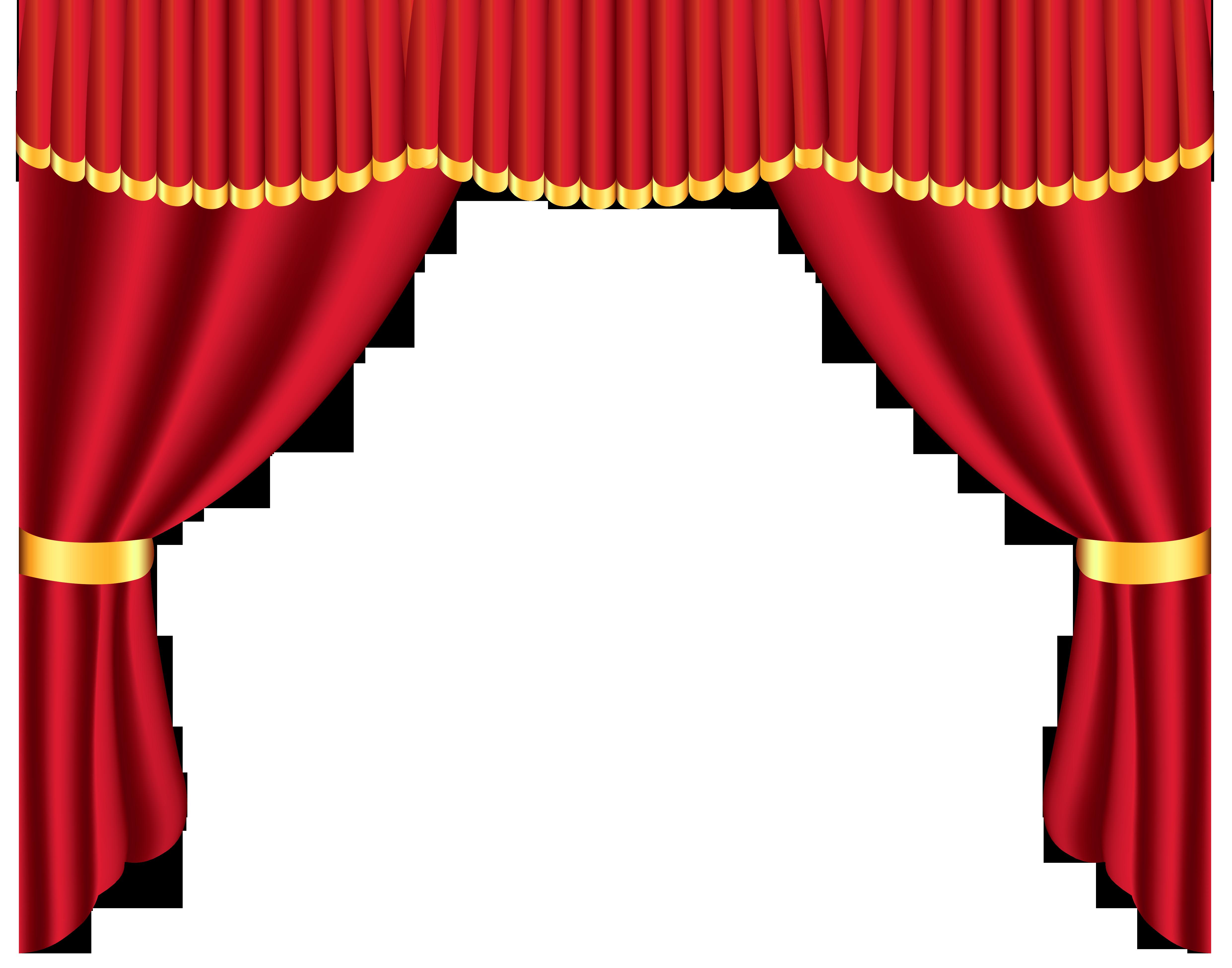 Curtain Clipart #1-Curtain Clipart #1-2
