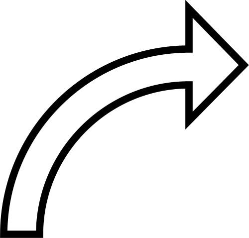 Curved Arrow Clip Art Cliparts .-Curved Arrow Clip Art Cliparts .-6
