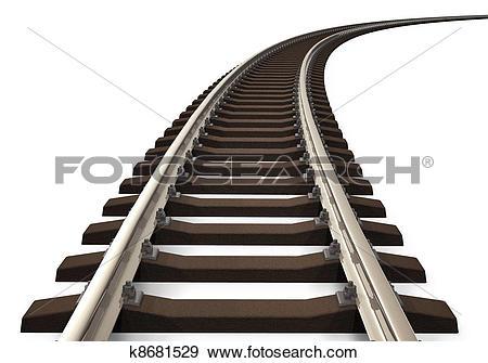 Curved railroad track-Curved railroad track-16