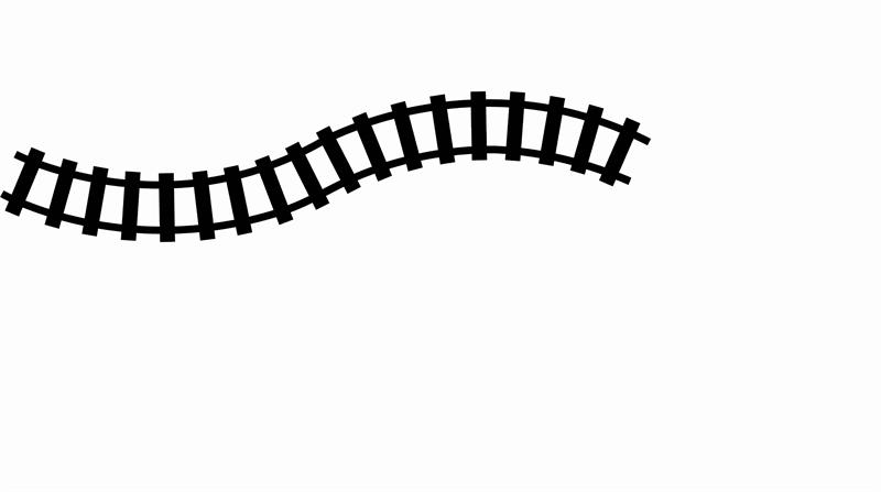 Curved Train Track Clipart-Curved Train Track Clipart-1