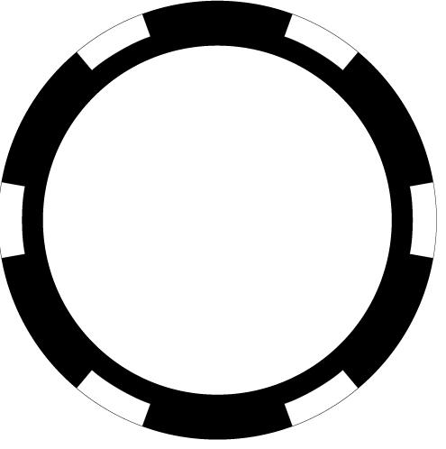 Custom Poker Chips In Black Direct Print-Custom Poker Chips In Black Direct Print Photo Quality Clipart-5