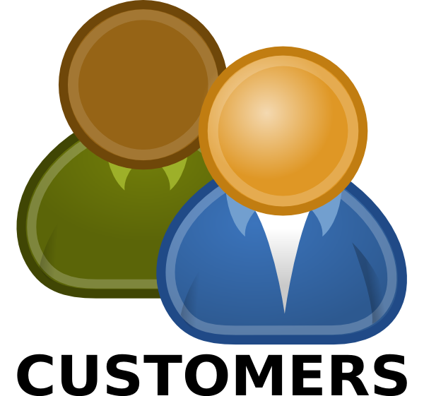 customer clipart