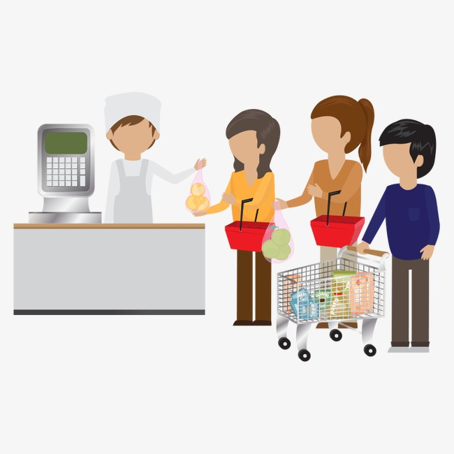 Supermarket People,customer, Supermarket-supermarket people,customer, Supermarket People, Customer, Supermarket  Staff PNG Image and Clipart-6