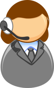 Customer Service Rep Clip Art