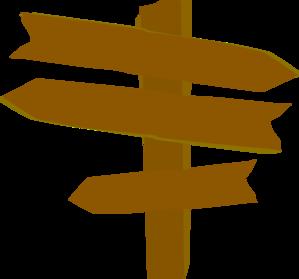 Customizable Directional Sign Clipart-Customizable Directional Sign Clipart-8