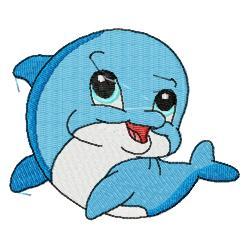 Cute Baby Dolphin Clipart-cute baby dolphin clipart-1