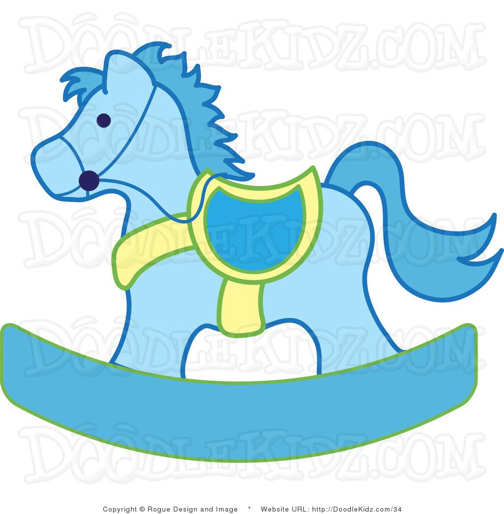 cute baby horse clipart