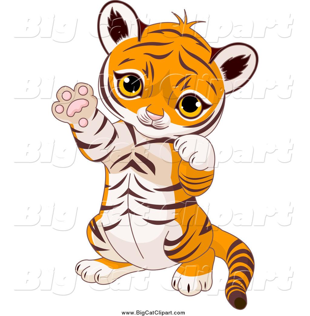 cute baby tiger clipart-cute baby tiger clipart-18