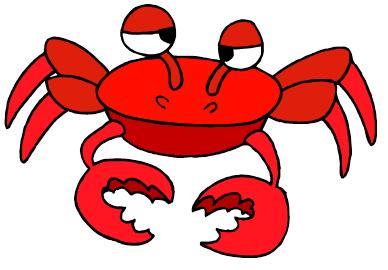 cute crab clipart-cute crab clipart-6