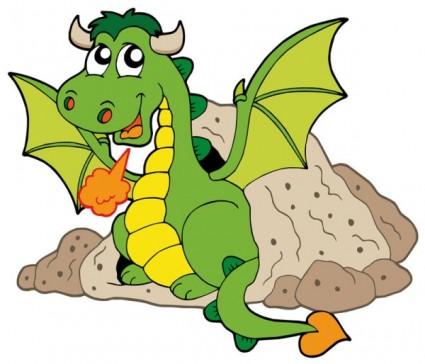 cute dragon clipart-cute dragon clipart-15